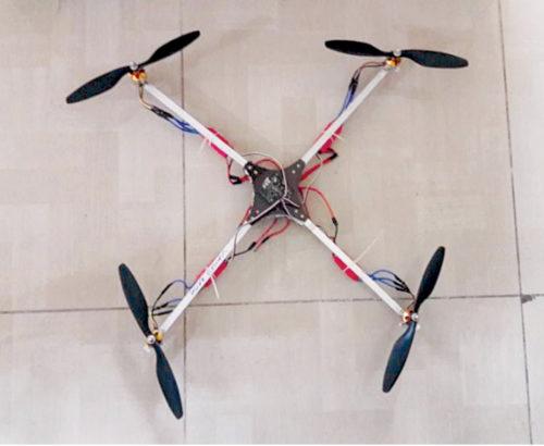 Quadcopter architecture