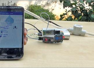 Smart Water Meter To Help Control Water Wastage Prototype