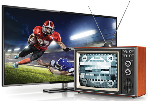 Analogue versus digital TV