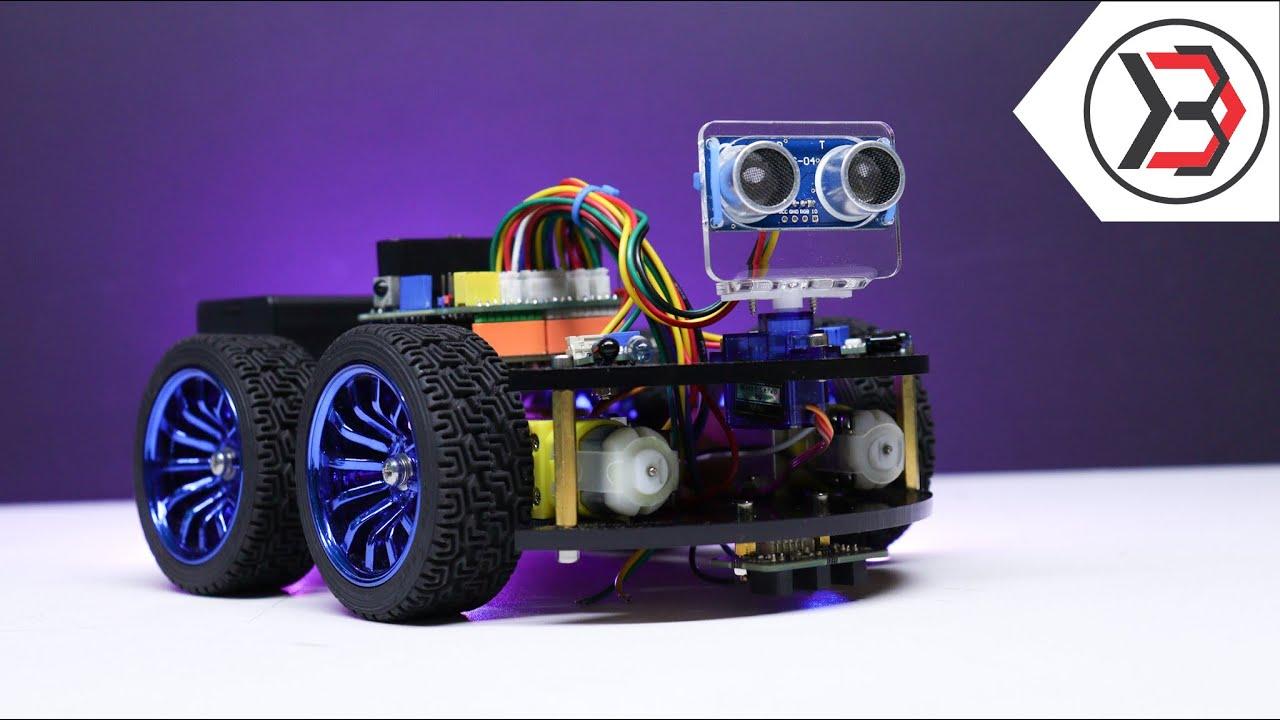 Video DIY: Arduino All-in-One Robot