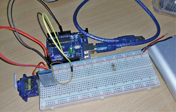 Smart lock system Prototype