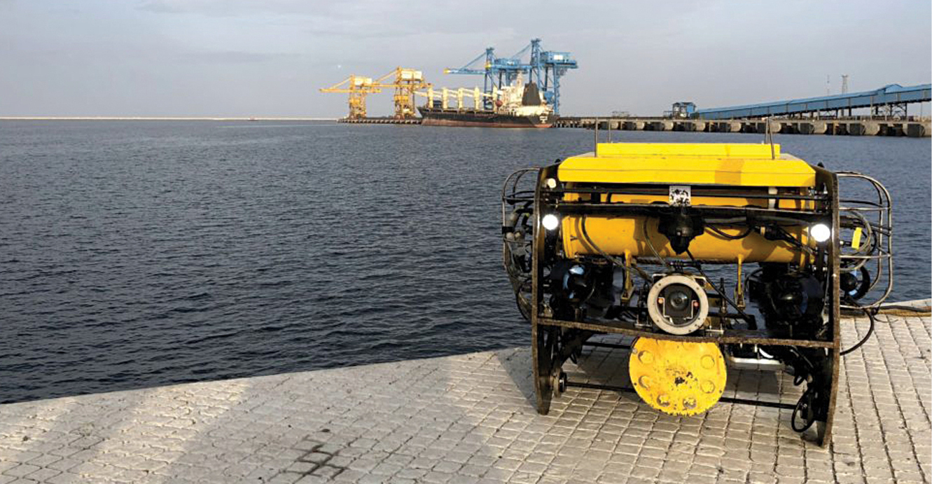Indigenous Robotic Solutions For Underwater Inspection