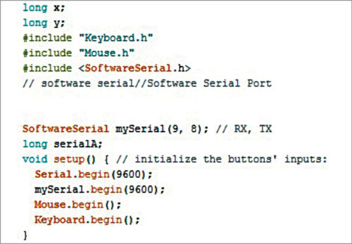 Arduino Mini code getting MPU6050 data