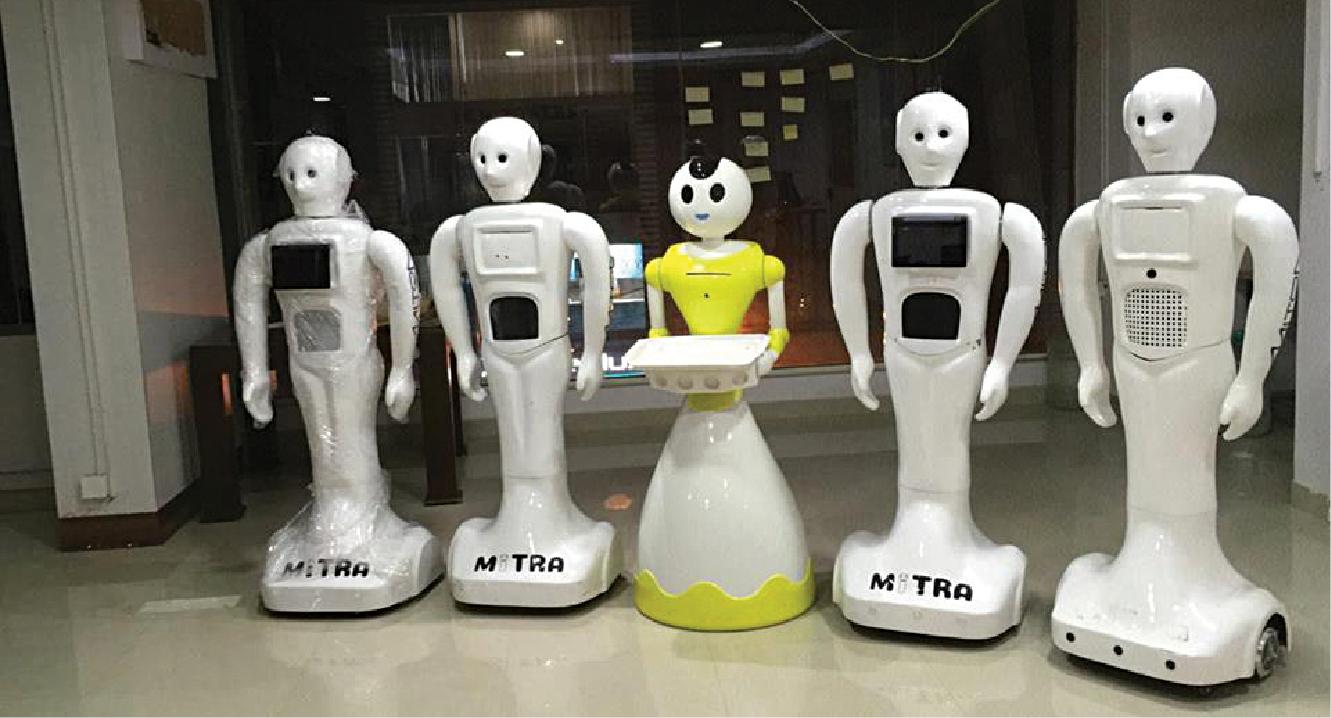 Humanoid Robots Transforming Customer Engagement