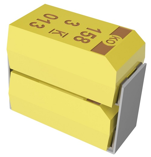 Tantalum Polymer Capacitors With High Capacitance and Voltage