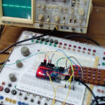 Author's Prototype for square wave generator