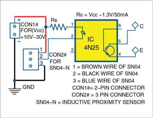 Isolated interface circuit