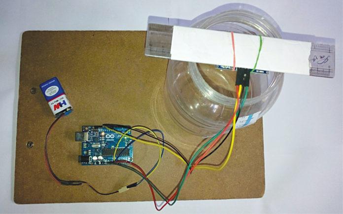 Ultrasonic Liquid Level Monitoring System