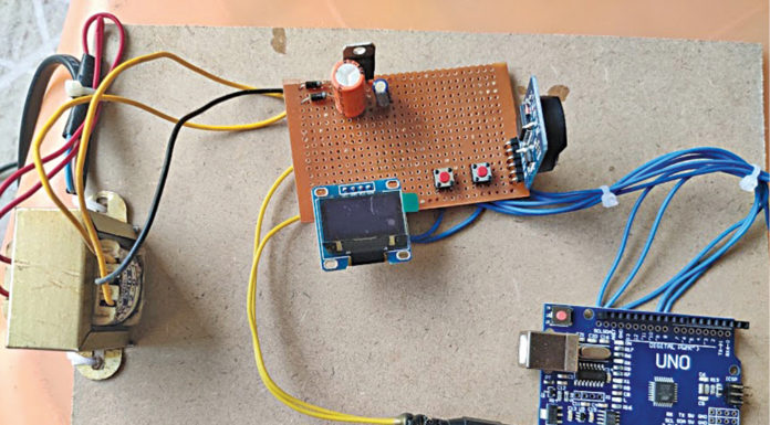 Real-Time Clock With Temperature Display Using Arduino
