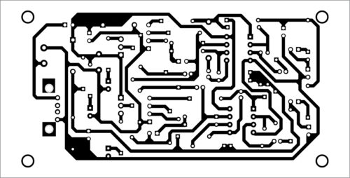 PCB layout for dual preamplifier circuit