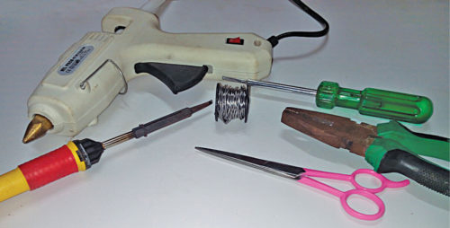 Tools used in the project