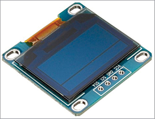 SSD1306 OLED display module