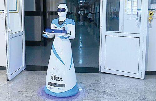 Dokat Aura—Robotic nurse