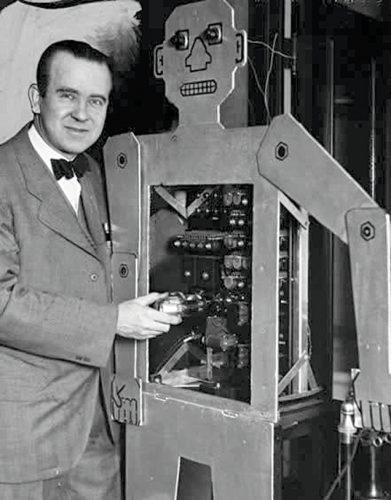 Herbert Televox humanoid robot