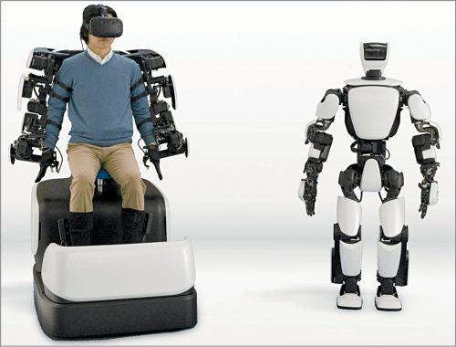 Robotic avatar (Credit: https://global.toyota)