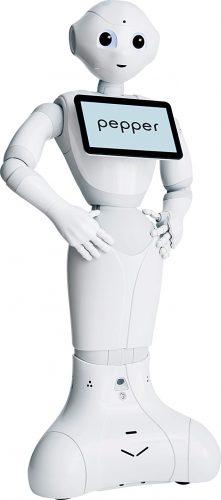Pepper robot (Credit: www.softbankrobotics.com)