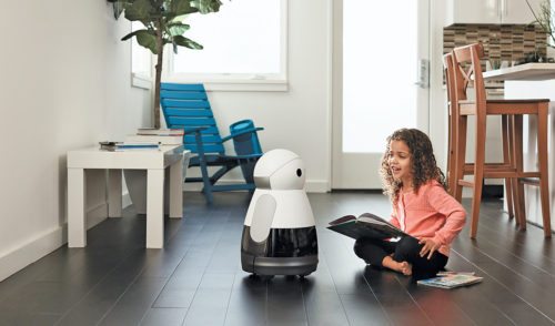 Kuri—A friendly home-assistant and security guard robot