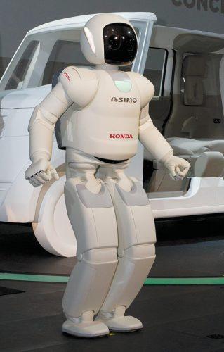 ASIMO—advanced mobile humanoid