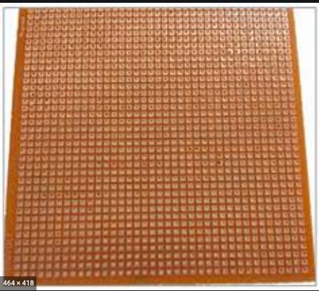 Typical zero PCB