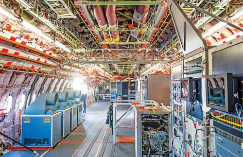 Aircraft wiring systems (Credit: Aapsky - stock.adobe.com)