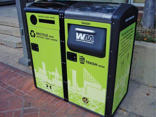 Representation of smart dustbin