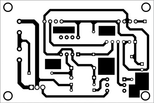 PCB layout for the receiver