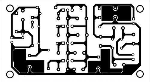 PCB layout for low-noise power supply