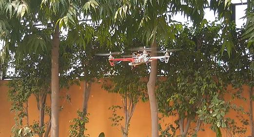 Author Prototype for F450 Drone Using KK 2.2