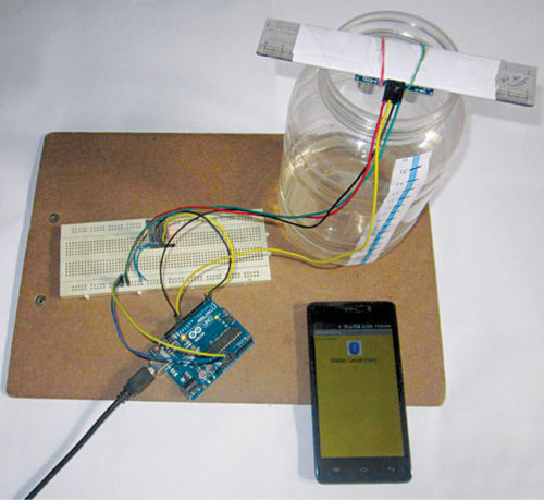 Authors' prototype of the project