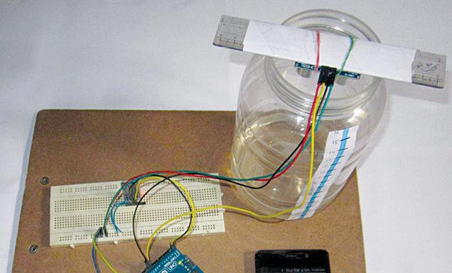 Smartphone Based Liquid Level Monitoring System