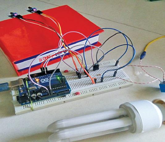 Automated Washroom Light Using IR Sensors