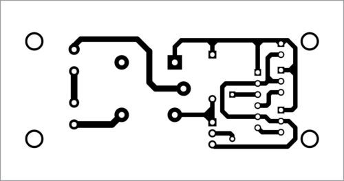 PCB layout for the automated light