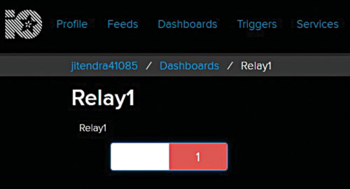 Relay1 on