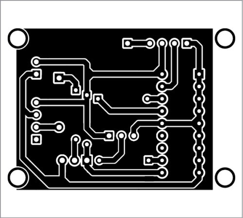 PCB layout for transmitter