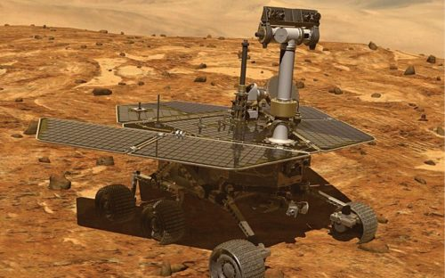 Mars rover called 'Curiosity' required eight nuclear battery modules (Source: www.livescience.com)