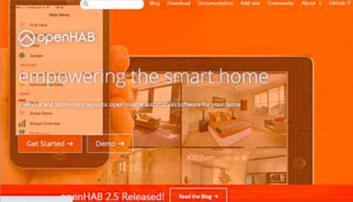 openHAB home page