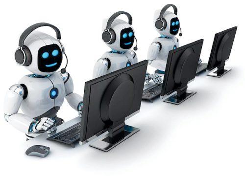 Representation of AI-robot in customer service