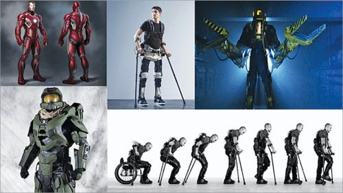 Exoskeletons moving from fiction to reality