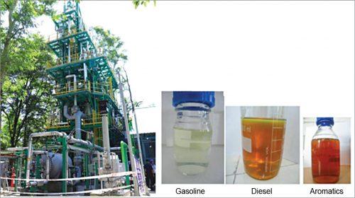 IIP's products from waste plastics (Credit: CSIR-IIP)