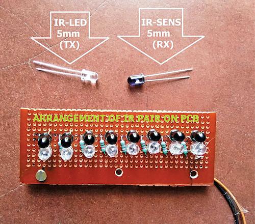 Author's sensor unit assembly