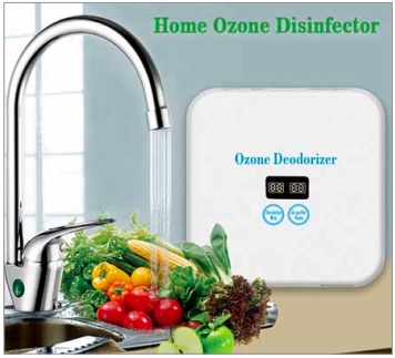 Chemical-free ozone technology that disinfects vegetables and fruits by removing harmful pesticides, chemicals, etc (Credit: https://yandex.com)