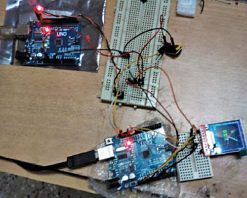Prototype-1 for Real Time Clock