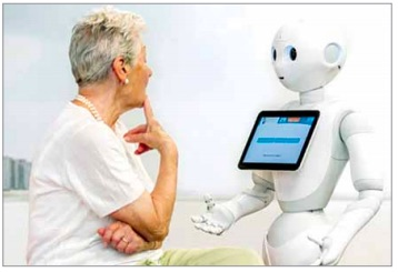 Robots are providing support to patients across the globe (Credit: www.bing.com)