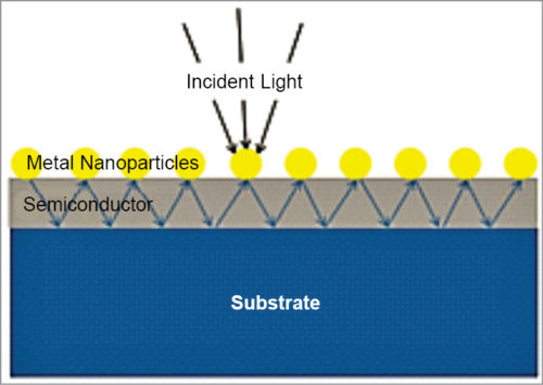 Scattering of light by gold nanoparticles
