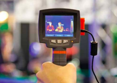 Thermal cameras for temperature screening (Credit: https://assets.crowncommercial.gov.uk/wp-content)