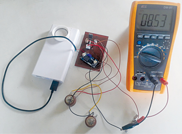 Power Bank Based Linear Regulated DC Power Supply