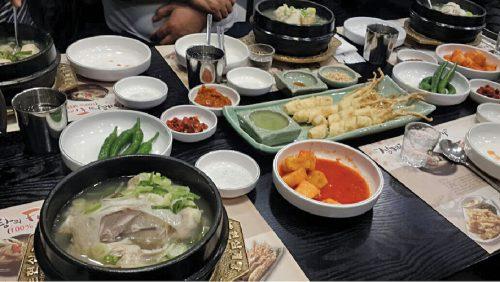 Sharma relishes Korean and Italian cuisines