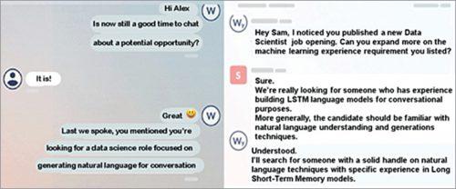 Wade and Wendy chatbots