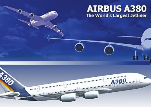 Airbus A380 (Courtesy: Airbus Industries)