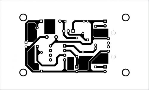 PCB layout for the LiFePO4 battery charger